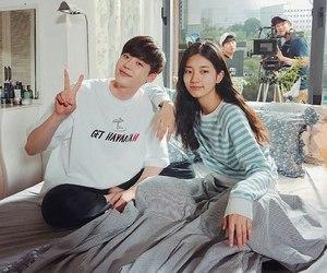 lee jong suk and suzy image