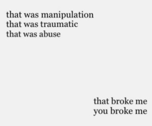 broken, quotes, and abuse image