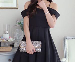 asian fashion, korean fashion, and dress image