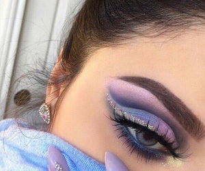 makeup, beauty, and nails image