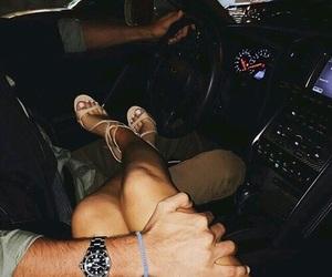 car, girl dream, and heels image