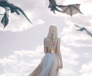 beautiful, blonde, and game of thrones image