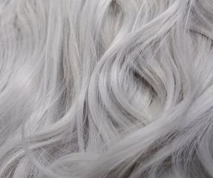 blonde and silver hair image