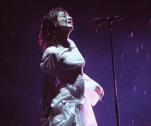 ️lorde, aesthetic, and rain image
