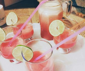 coctail, drink, and summer image