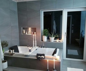bathroom, design, and bedroom image