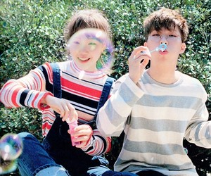 kpop, brothers, and bubbles image