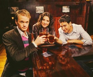 Barney Stinson, ted mosby, and himym image