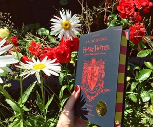 book, gryffindor, and harry potter image