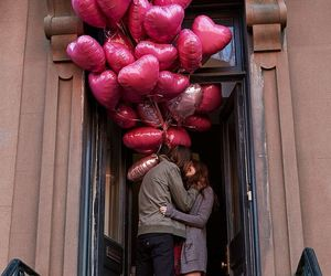 Ballooons, valentine, and love image