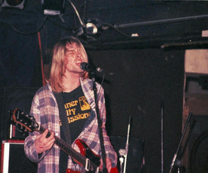 kurt cobain, nirvana, and cobain image
