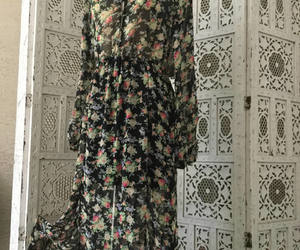babydoll, floraldress, and etsy image