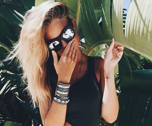 summer and blonde image