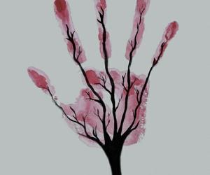 tree, hand, and art image
