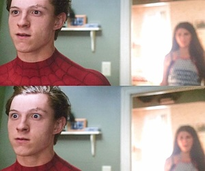 aunt may, Marvel, and spiderman image