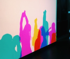 art, colorful, and neon image