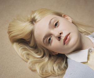 Elle Fanning, blonde, and actress image