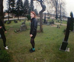 80s, 90s, and cemetery image