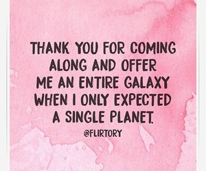 flirt, galaxy, and idea image