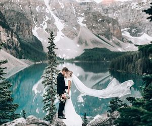 Alberta, wanderlust, and wedding image