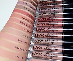 makeup, NYX, and girl image