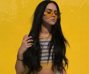 beauty, fashion, and maggie lindemann image