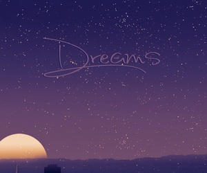 Dream and moon image