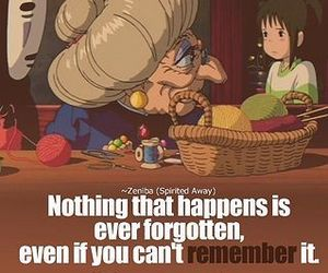 anime, spirited away, and quotes image