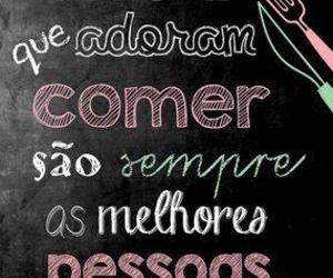 brasil, comer, and texto image