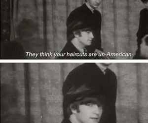 funny, john lennon, and the beatles image