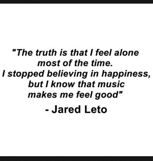 quote, music, and jared leto image
