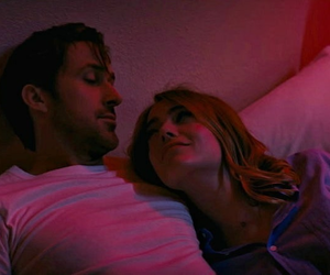couple, emma stone, and ryan gosling image
