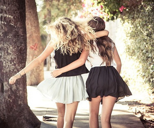 friends, fashion, and girls image