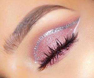 beauty, eyes, and eyelaches image