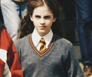 behind the scenes, emma watson, and hermione granger image