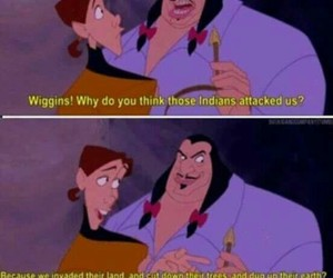 funny, pocahontas, and disney image