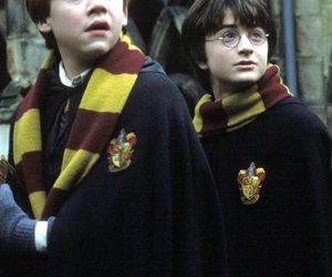 harry potter, ron weasley, and gryffindor image