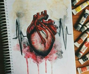 heart, art, and medicine image