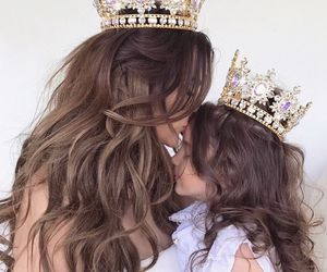 Queen, daughter, and princess image