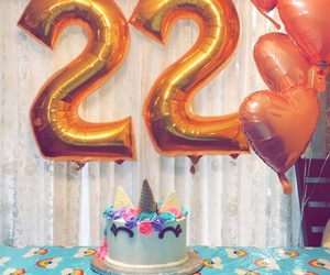 22, balloons, and girly image