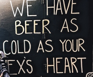 beer, breakup, and cold image