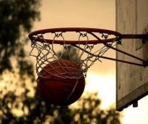 basket, ball, and Basketball image