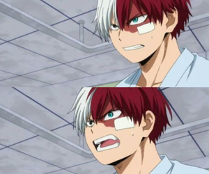 boku no hero academia and todoroki shoto image