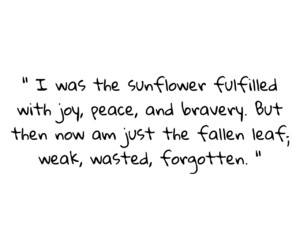flower, poem, and quotes image