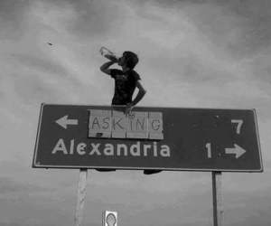 asking alexandria, band, and music image