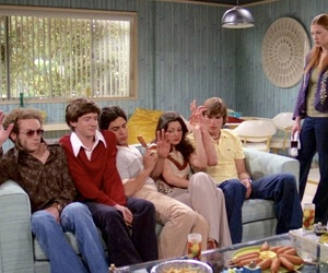 cast, squad, and that 70s show image