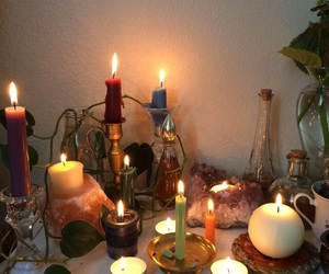 candle and aesthetic image