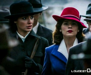 wonder woman, peggy carter, and Marvel image