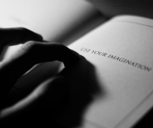 imagination, quotes, and book image