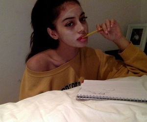 thinspo thin skinny, quotes words text, and eyes eyebrows brows image